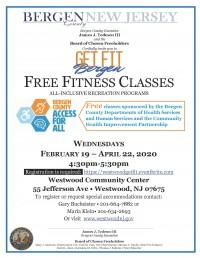 Get Fit Bergen: Free Fitness Classes