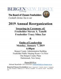 2019 Annual Reorganization & Swearing in Ceremony