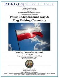 Polish Independence Day + Flag Raising Ceremony