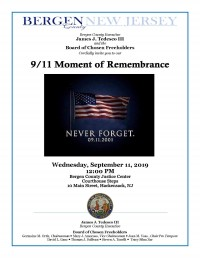 9-11 Moment of Rememberance