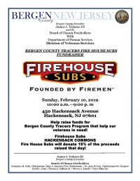 Bergen County Tracers Fire House Subs Fundraiser