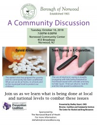 A Community Discussion: Drug Seminar