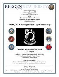 POW-MIA Recognition Day Ceremony