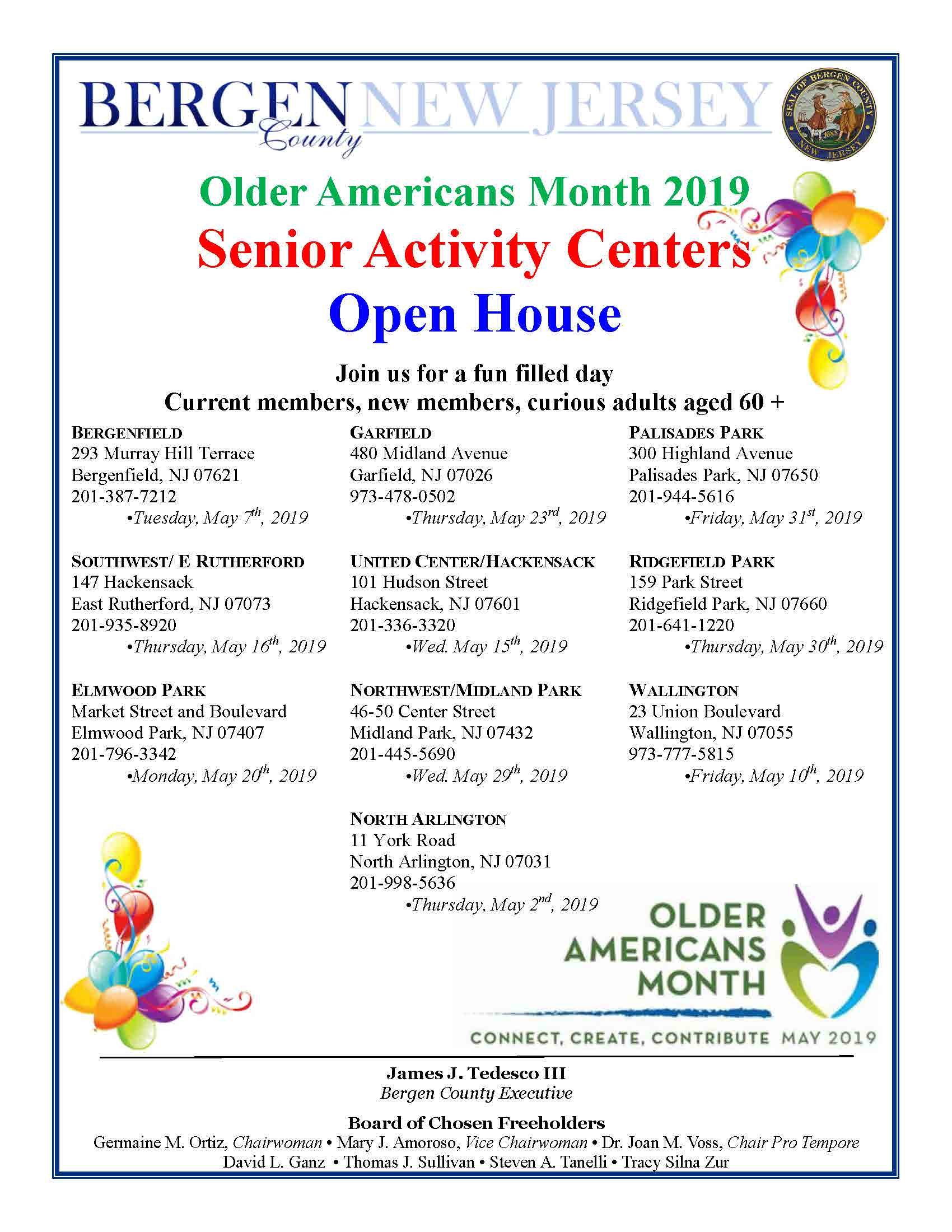 Older Americans Month Open Houses Page 2