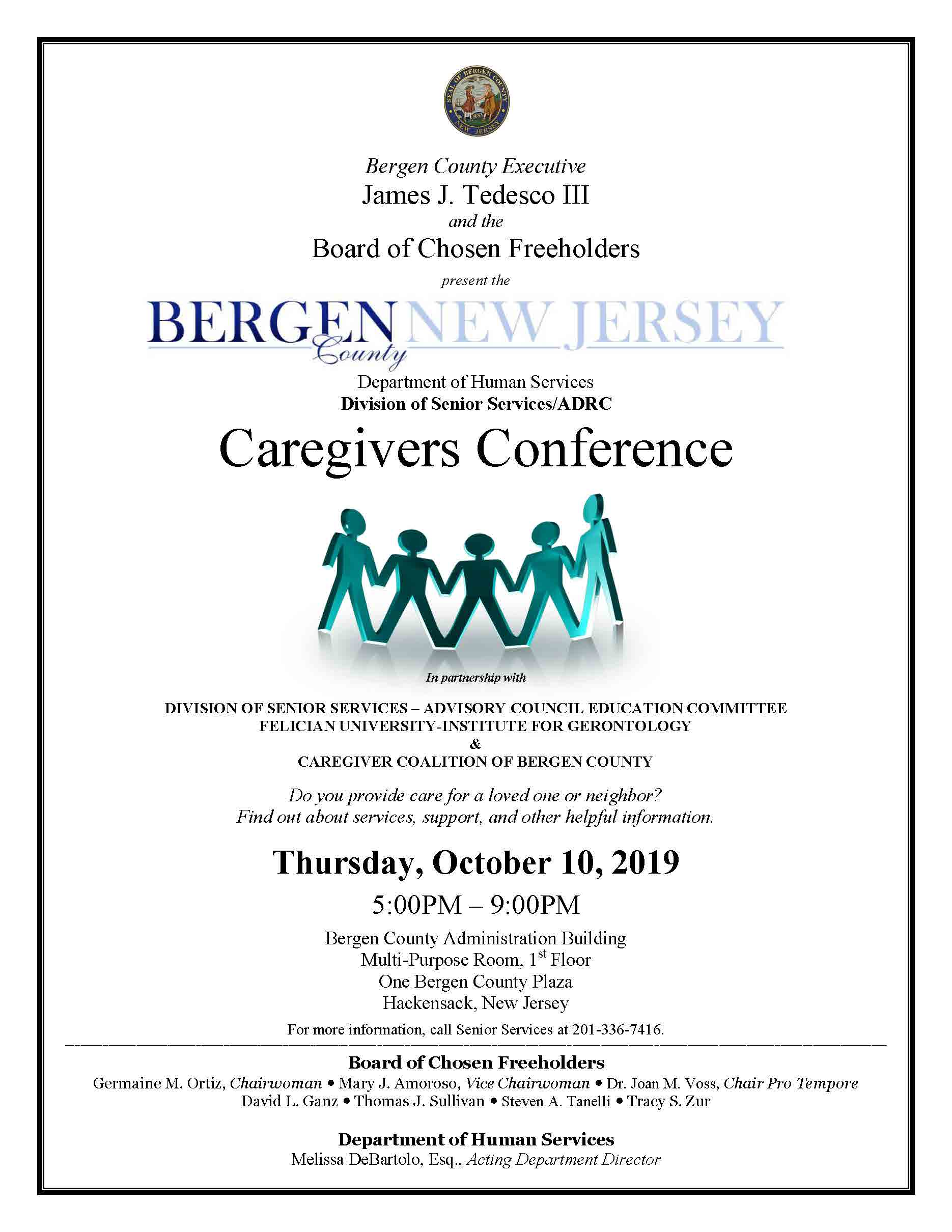 Fall Caregivers Conference Flyer 2019