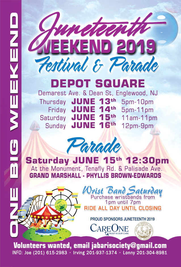 Copy Of Juneteenth Weekend 2019 Festival Parade